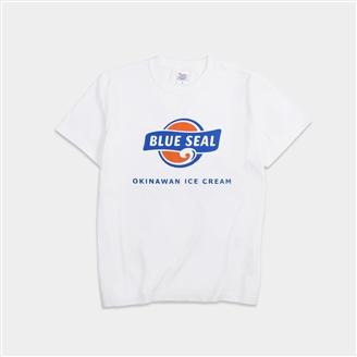 ブルーシールTシャツ(ホワイト)Mサイズ (送料別)