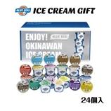 沖縄のアイス「ブルーシール詰合せギフト24」(送料別)