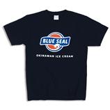 ブルーシールTシャツ(ネイビー)Mサイズ (送料別)
