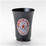 素焼きビアカップ 赤星ラベル