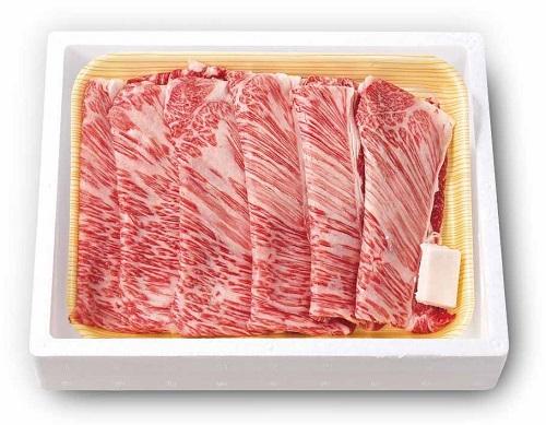 【5セット】知床牛肩ロース すき焼き肉