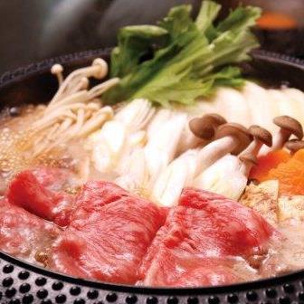 知床牛 肩ロースすき焼き肉(2セット組)