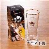 【1個】銀座ライオンオリジナル 金口グラス