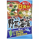 得入り8食 野菜・海藻