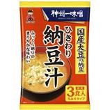 ひきわり納豆汁 3食