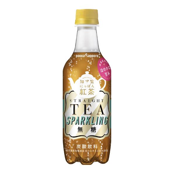 【24本】知覧にっぽん紅茶スパークリング(450ml)