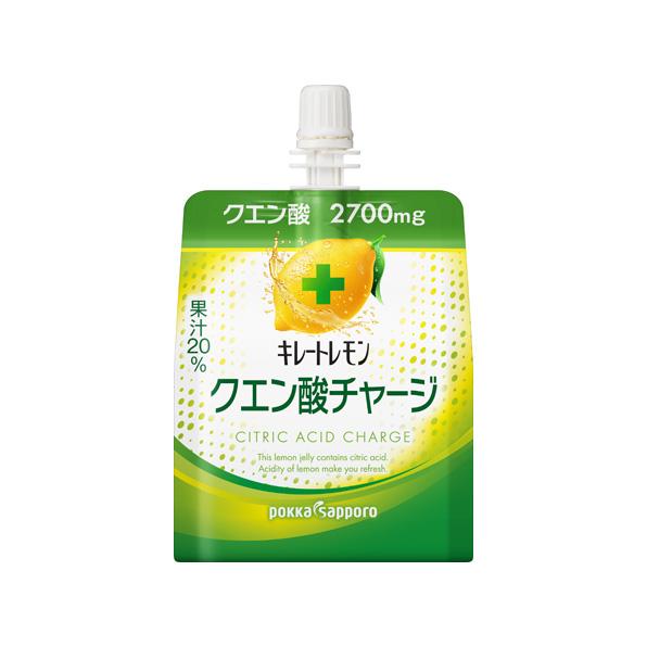 【小分け6袋】キレートレモン クエン酸チャージゼリー(180gパウチ)