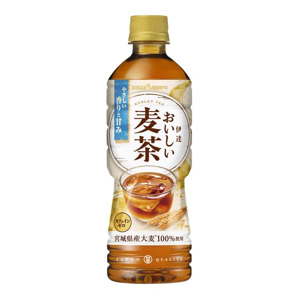 【24本】伊達おいしい麦茶(525ml)