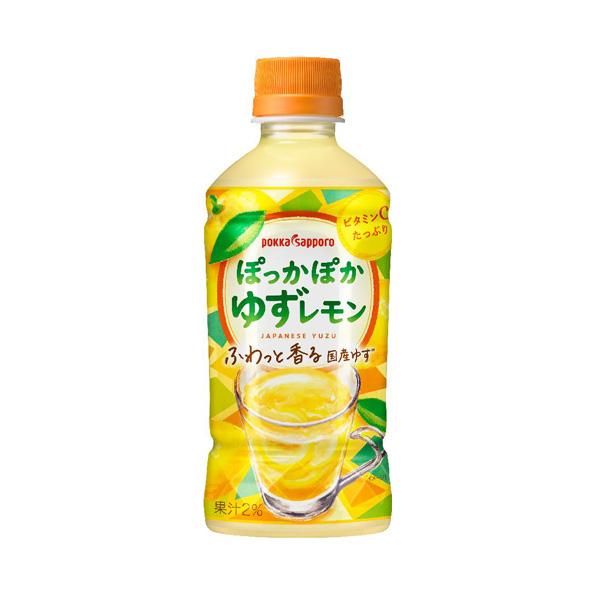 【24本】ぽっかぽかゆずレモン(345ml)