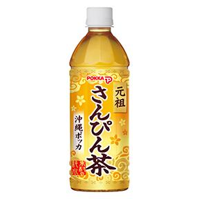 【24本】沖縄ポッカさんぴん茶(500ml)