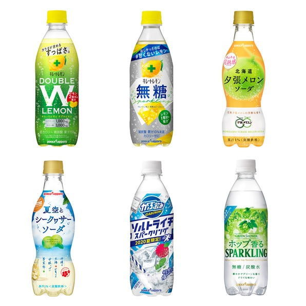 【24本】6種類×4本 炭酸飲料アソート
