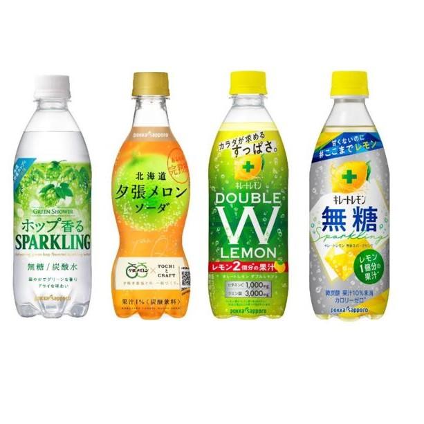 【24本】4種類×6本 炭酸飲料アソート