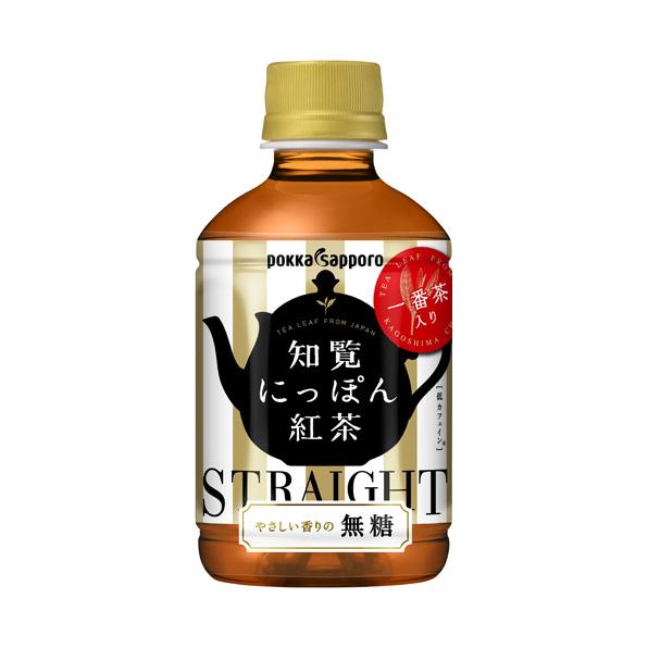 【24本】知覧にっぽん紅茶 無糖(275ml)