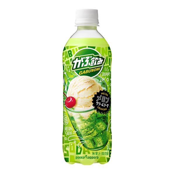 【24本】がぶ飲み メロンクリームソーダ(500ml)
