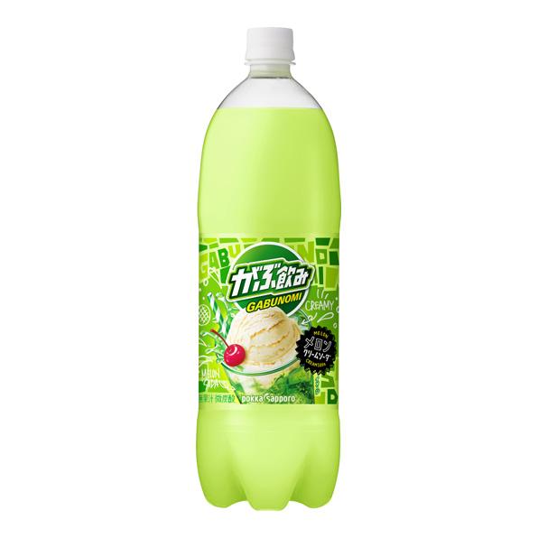 【8本】がぶ飲み メロンクリームソーダ(1.5L)