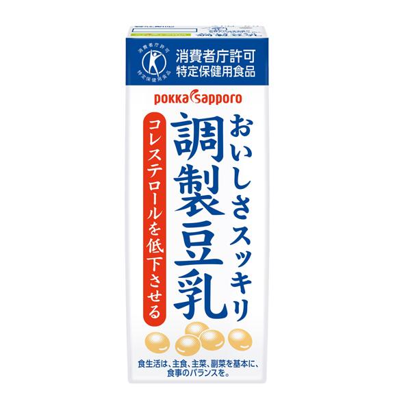 ◆クール便◆【24本】ソヤファーム おいしさスッキリ 調製豆乳(200ml)