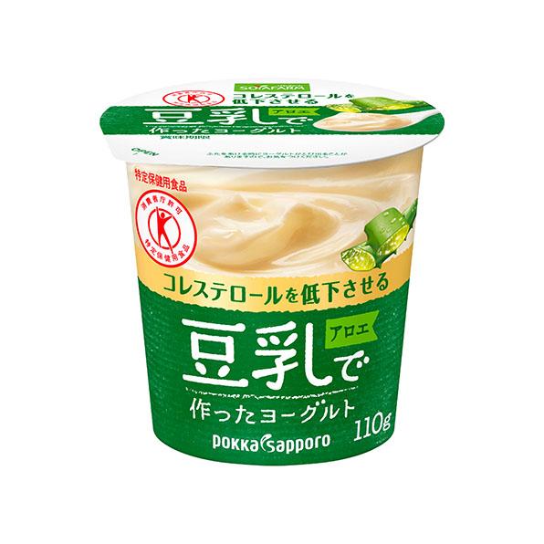 ◆クール便◆【12個】ソヤファーム 豆乳で作ったヨーグルト アロエ(110g)