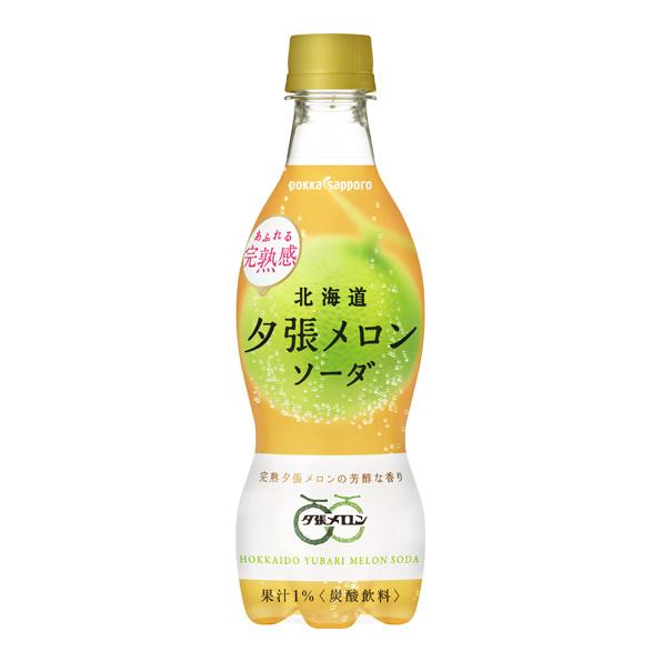 【24本】北海道夕張メロンソーダ(420ml)