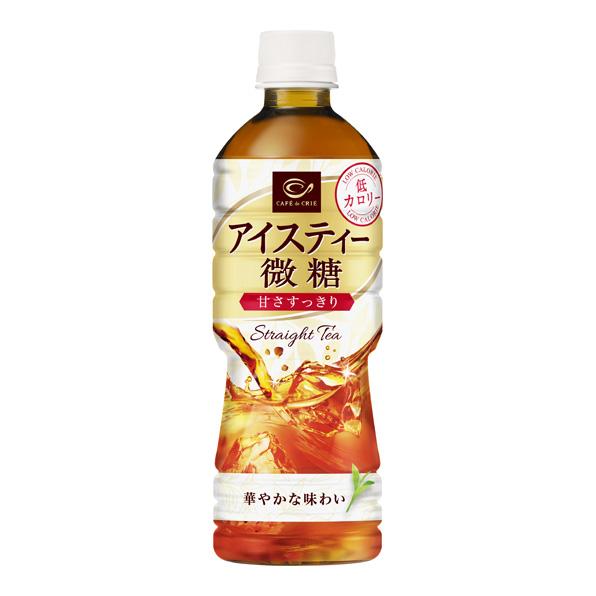 【24本】カフェ・ド・クリエ アイスティー微糖(525ml)