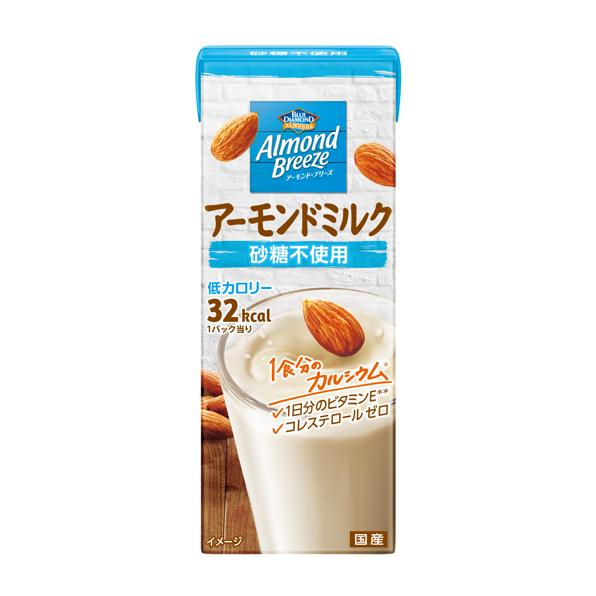【24本】アーモンド・ブリーズ 砂糖不使用(200ml)