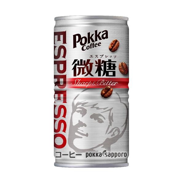 【30本】ポッカコーヒー エスプレッソ微糖(185g)