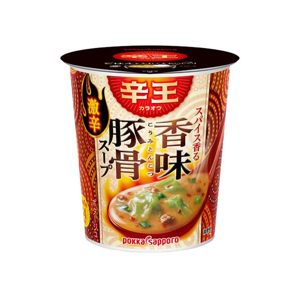 【小分け6カップ】辛王 スパイス香る香味豚骨スープ