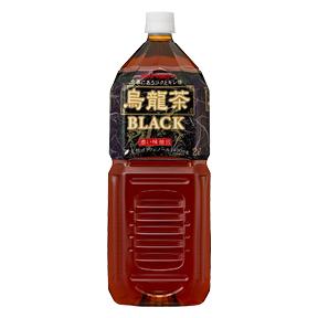 【6本】烏龍茶BLACK(2L)