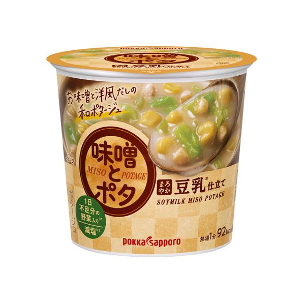 【小分け6カップ】味噌とポタ まろやか豆乳仕立て