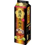 梅エキス入り黒梅酒【6本】1800ml(送料込)