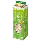 クエン酸でいきいき 白梅酒【1本】1800ml(送料込)