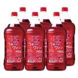 うれしいワイン〈赤〉1.8Lペットボトル 1800ml【6本】(送料込)