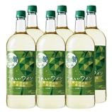 うれしいワイン 酸化防止剤無添加有機酸リッチ〈白〉1.5Lペットボトル 1500ml【6本】(送料込)